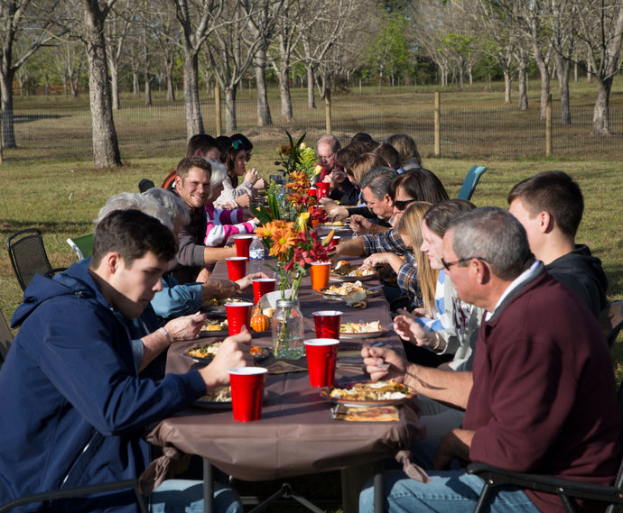 Thanksgiving Feast at Family Orchards — Farm Photography Destination Near Pensacola