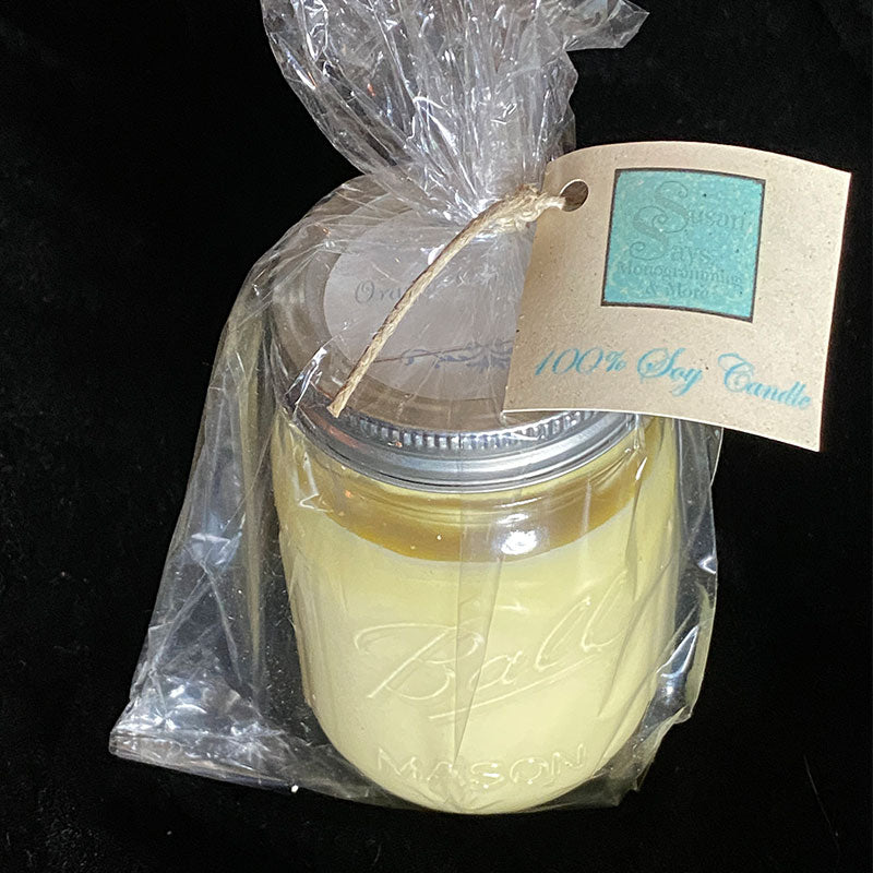 Soy Candles by Susan Says Pensacola