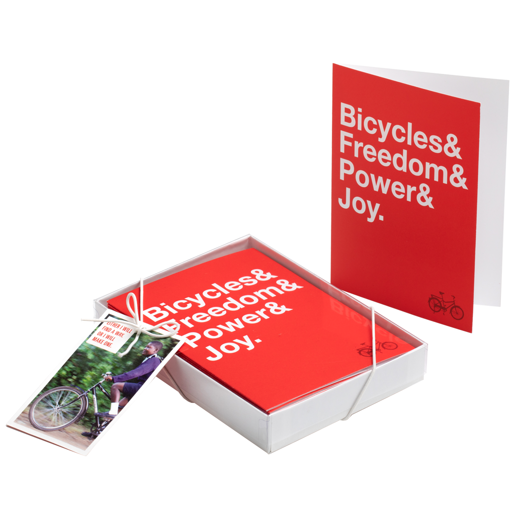 Bicycle Joy Boxed Note Cards