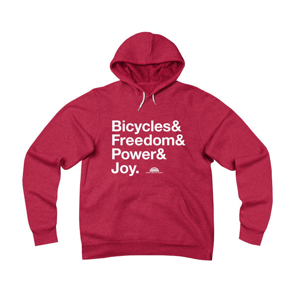 Bicycle Joy - Pullover Hoodie (FAF)