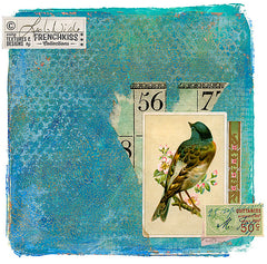 Print out vintage images to use in collage. This collage by Leslie Nicole.