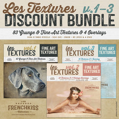 Les Textures 1-3 discounted collections bundle.