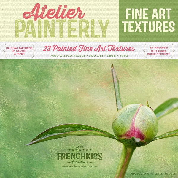 Atelier painterly fine art texture collection. Commercial license.