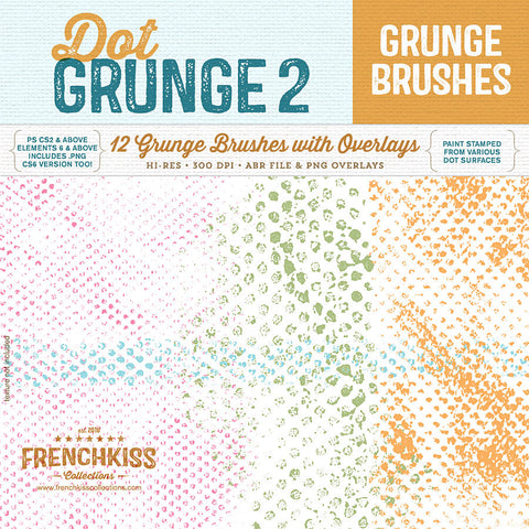 Dot Grunge 2 Brushes