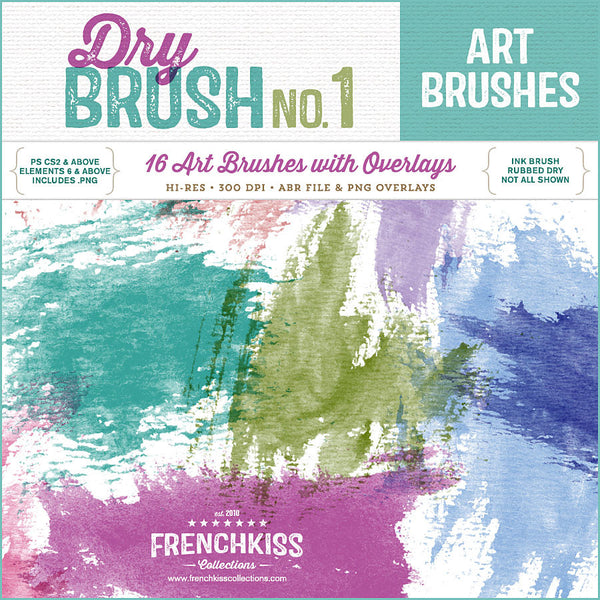 Dry Brush No. 1 Brushes
