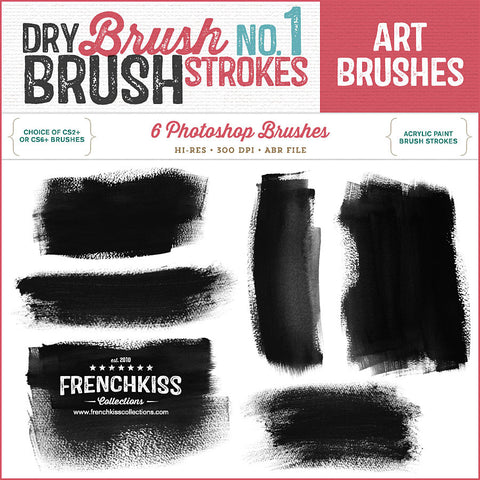 Dry Brush Strokes No. 1