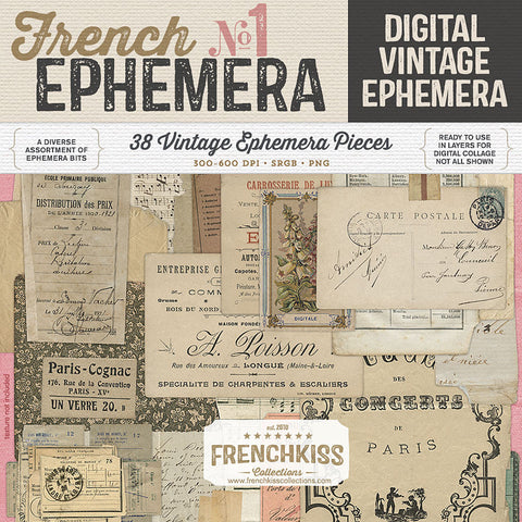 French Ephemera No. 1