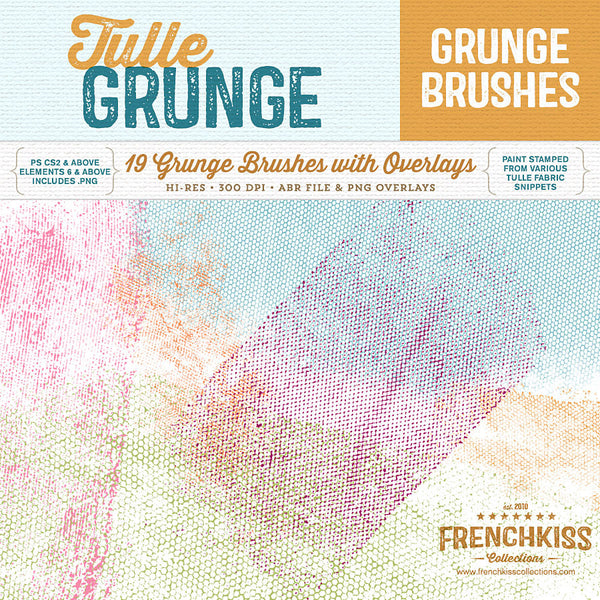 Grunge Tulle Brushes