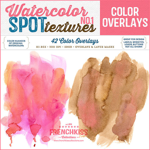 Watercolor Spot Textures 1