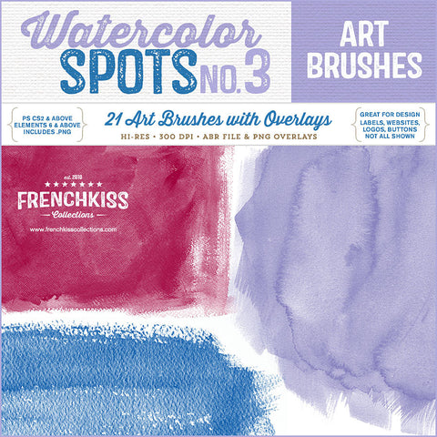Watercolor Spot Brushes 3