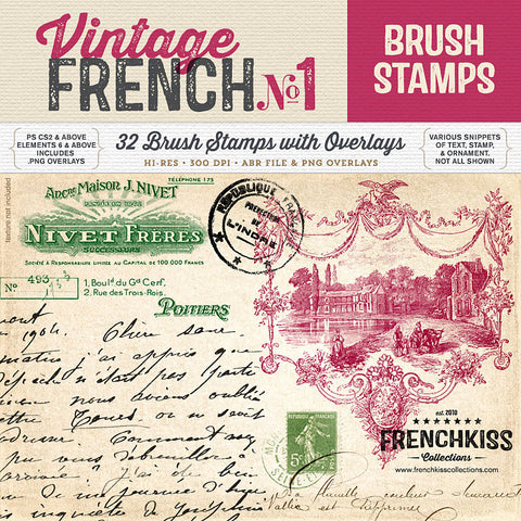Vintage French Brushes No.1