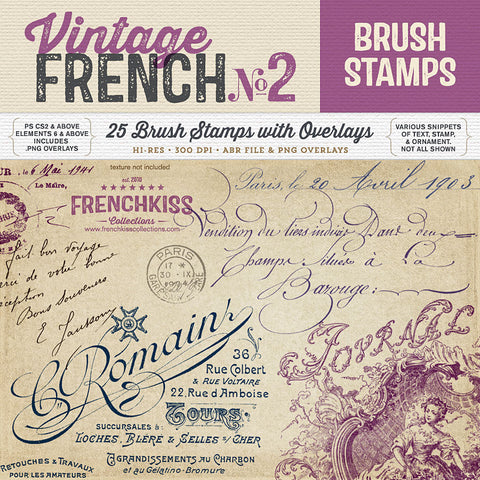 Vintage French Brushes No. 2