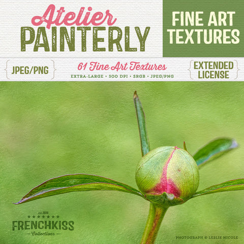 Atelier painted texture collection. Extra-large for extended commercial license.