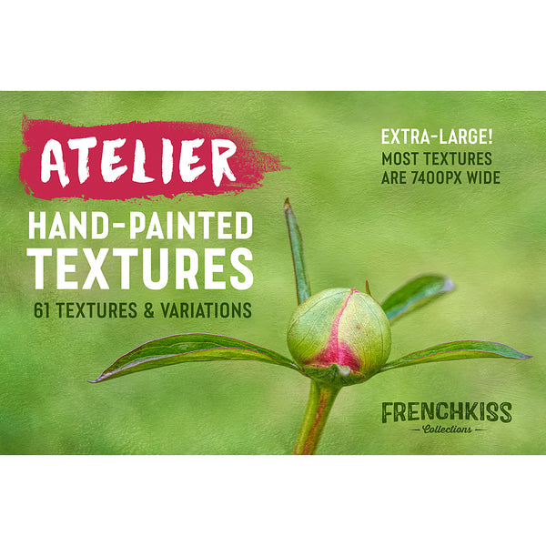 Atelier hand-painted fine art texture collection. Extended License.