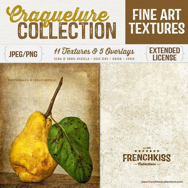Craquelure fine art texture and overlay collection. Commercial license.