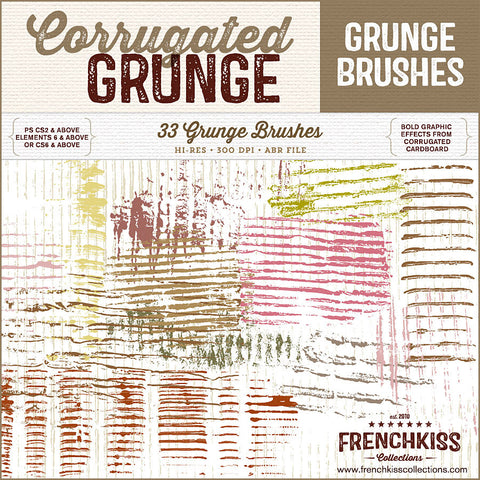 Corrugated Grunge Brushes