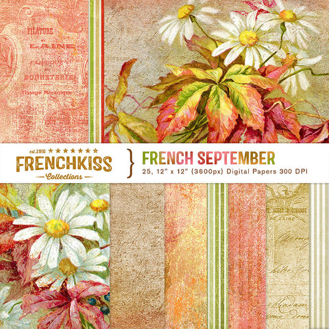 French September Digital Papers