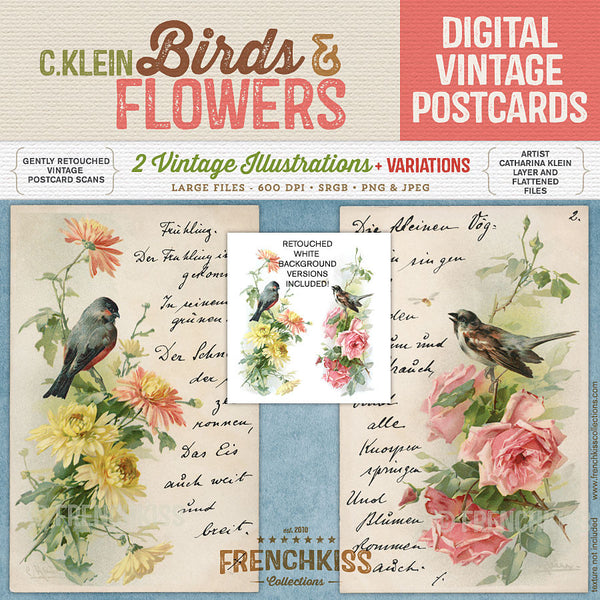 Catharina Klein Birds and Flowers