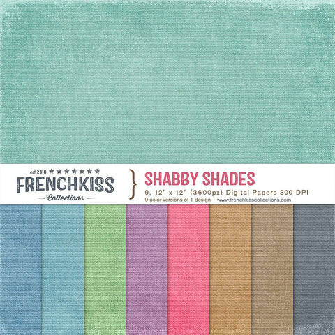 Shabby Shades Digital Papers
