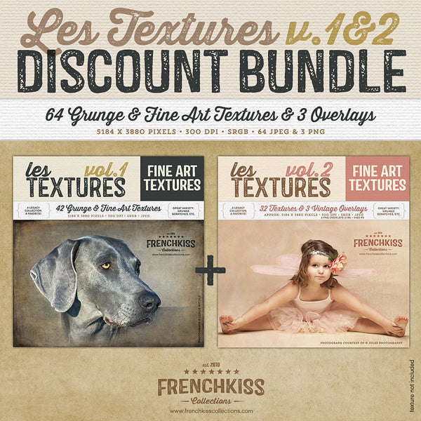 Les Textures 1 & 2 Bundle