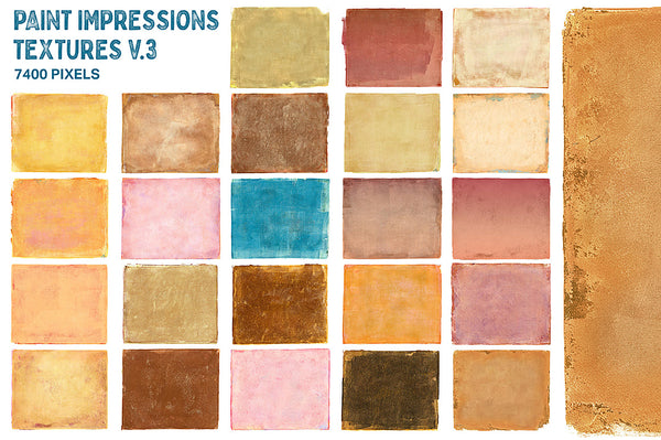 Paint Impressions Texture Collection extra-large, extended commercial licnese.