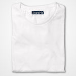 Men's Plain T-shirts | White