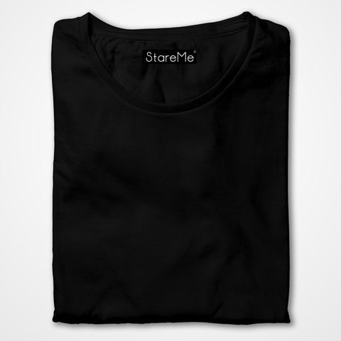 Men's Plain T-shirts | Black