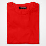 Men's Plain T-shirts | Red