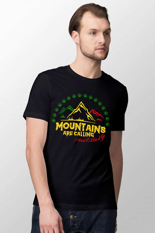StareMe Cotton T-shirt | Mountains are Calling