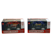 Set Of 2 Pull Back Race Cars