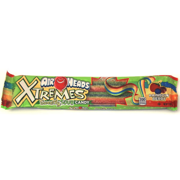 American Airheads Sour Rainbow Belt