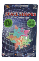 Glow In The Dark Stars Space Shapes
