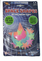 Glow In The Dark Moon And Stars Space Shapes