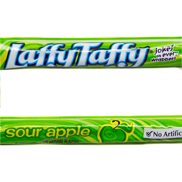 American Retro Laffy Taffy Rope Sweet - Sour Apple