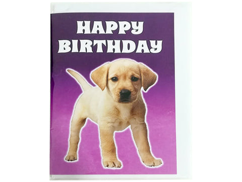 Birthday Card Collection - Puppy Collection No. 11