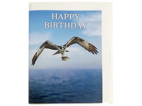 Birthday Card Collection - No. 19 Osprey