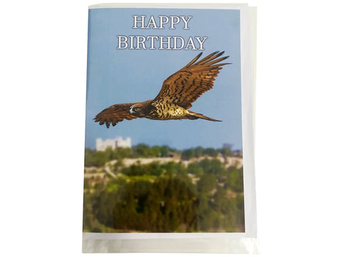 Birthday Card Collection - No. 1 Short-toed Snake Eagle