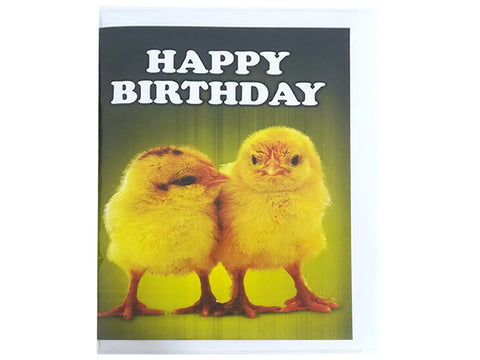 Birthday Card Collection - No. 20 Chickens