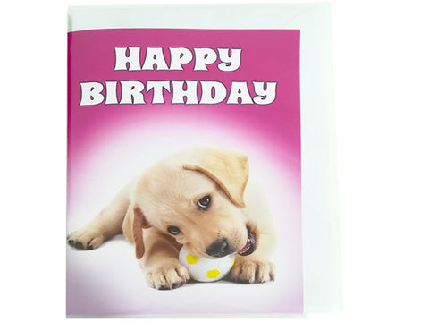 Birthday Card Collection - Puppy Collection No. 2