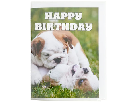 Birthday Card Collection - Puppy Collection No. 3