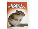 Birthday Card Collection - No. 48 Chipmunk
