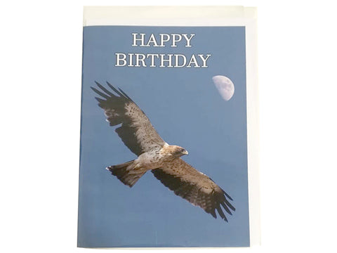 Birthday Card Collection - No. 4 Booted Eagle