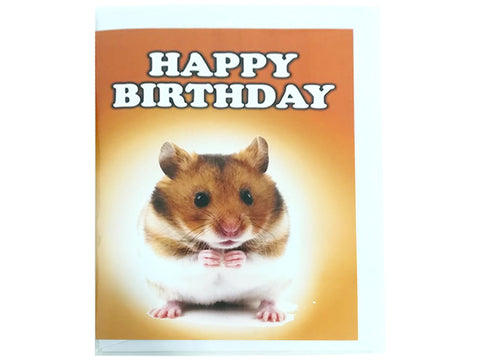 Birthday Card Collection - No. 51 Hamster