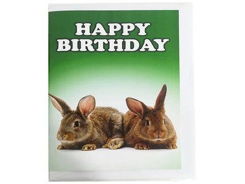 Birthday Card Collection - No. 53 Rabbits