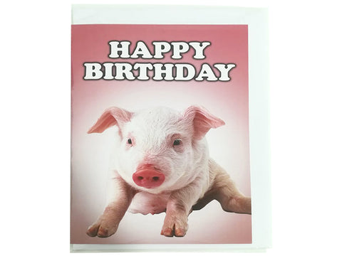 Birthday Card Collection - No. 57 Piglet