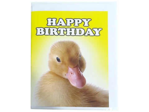 Birthday Card Collection - No. 59 Duck