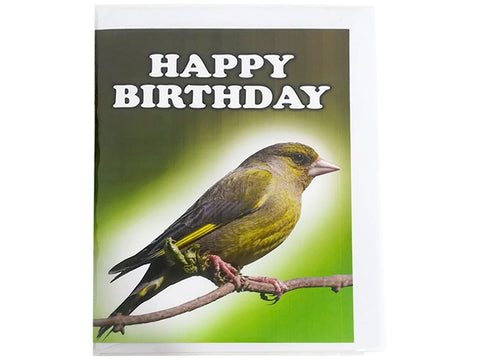 Birthday Card Collection - No. 60 Green Finch