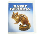 Birthday Card Collection - No. 65 Chipmunk