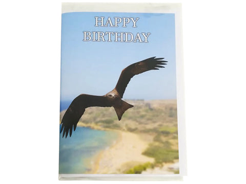 Birthday Card Collection - No. 7 Black Kite