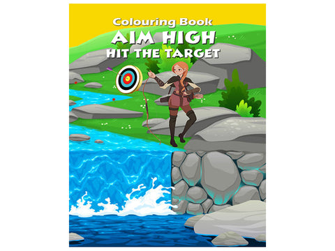Aim High - Hit the Target (Colouring Book)